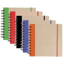 Promotional V Natural™ Kraft Notepad w/ Pen