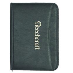 10.25 x 13.5 Deluxe Zipper Padfolio