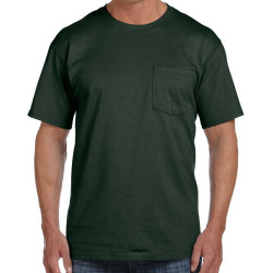 Fruit of the Loom Adult Heavy Cotton T-Shirt with Pocket