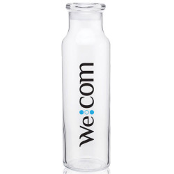 Imprinted 22 oz. Clear Glass Bottle