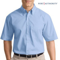 Port Authority Short Sleeve Value Poplin Shirt
