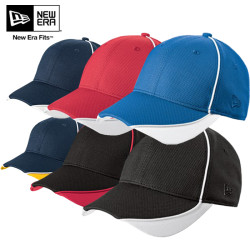 New Era® Contrast Piped BP Performance Cap