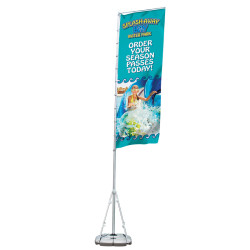 Giant Outdoor Banner Display