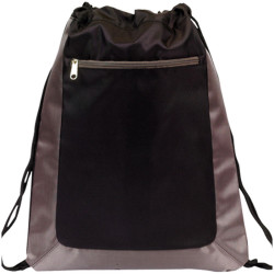 Two Tone Drawstring Backpack