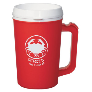 Logo 22 Oz. Thermo Insulated Mug