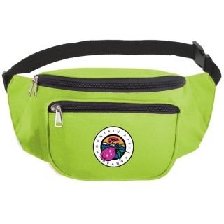 Custom 3-Pocket Fanny Packs - 600D Polyester