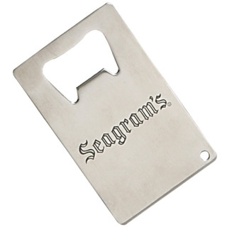 Custom Credit Card Bottle Openers - Stainless Steel
