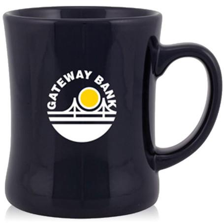 14oz Printed Luna Diner Glossy Coffee Cup