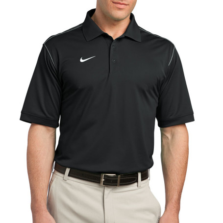 Nike Golf Dri-FIT Sport Swoosh Pique Polo (Apparel)