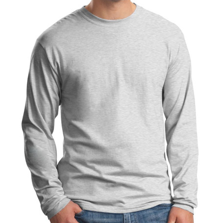 Hanes Beefy-T - 100% Cotton Long Sleeve T-Shirt