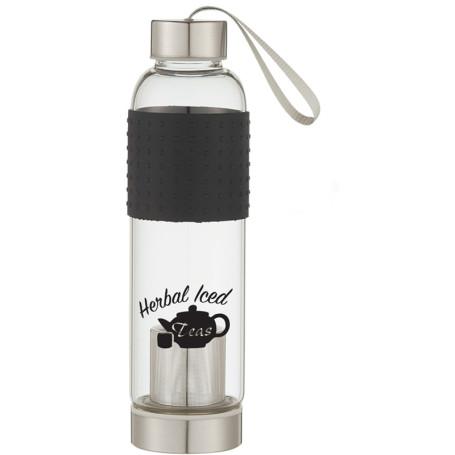 18 Oz. Infuser Glass Bottle