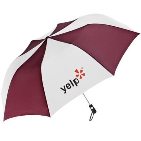 Imprinted Totes® Golf Size Auto Open Folding Umbrella