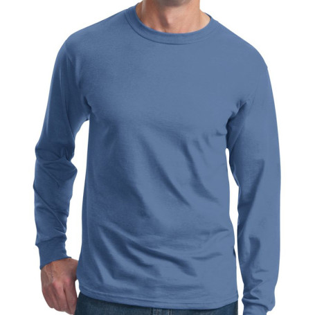 Fruit Loom Adult Cotton Long-Sleeve T-Shirt