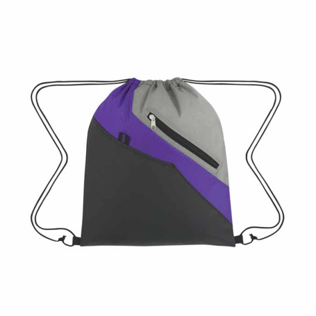 Custom Printed Waverly Drawstring Backpack