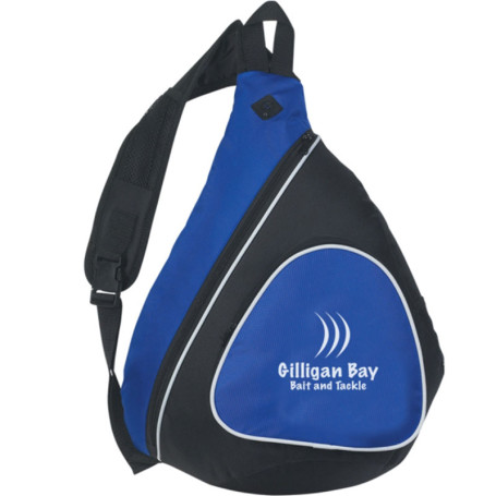 Printed Sling Backpack