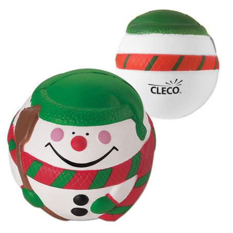 Custom Snowman Stress Reliever