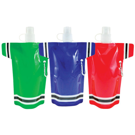 16 Oz Super Fan Flat Bottle