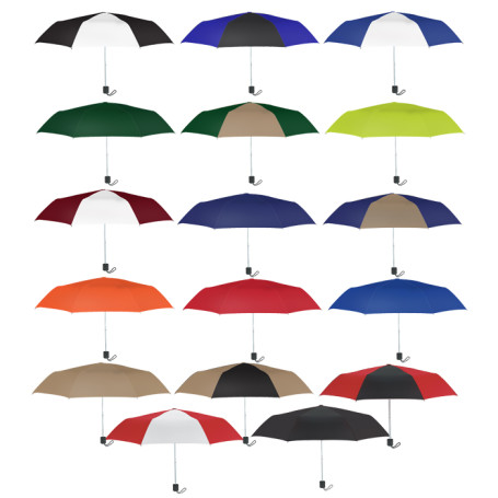 "Customizable 42"" Arc Budget Telescopic Umbrella"