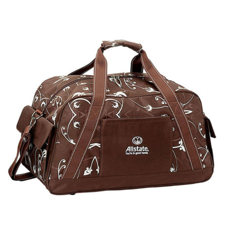 Customizable Iris Duffel