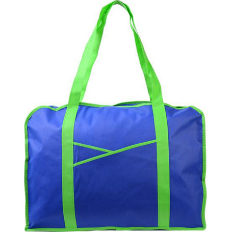 Customizable Poly Pro Criss Cross Pocket Tote