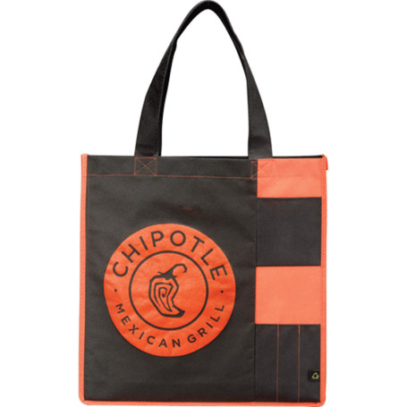 Customizable PolyPro Non-Woven Pocket Tote