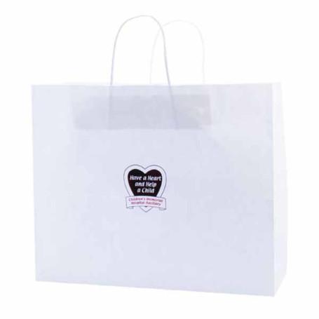 Customizable-White-Kraft-shopping-bags