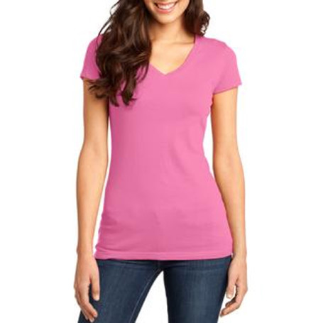 District Juniors Very Important Tee V-Neck