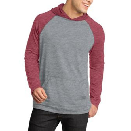 District-Young Mens 50/50 Raglan Hoodie