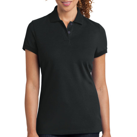 District Made Ladies Stretch Pique Polo (Apparel)