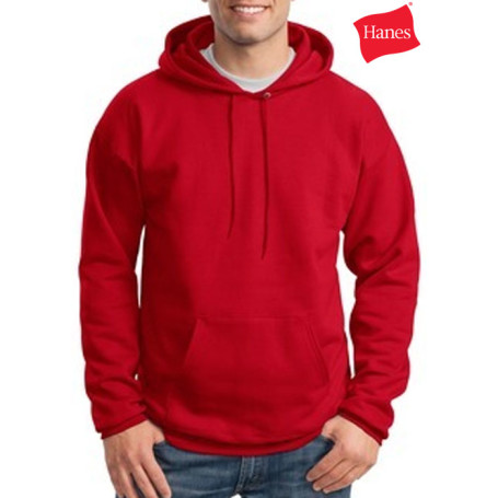 Custom Logo Hanes Hooded Sweatshirt