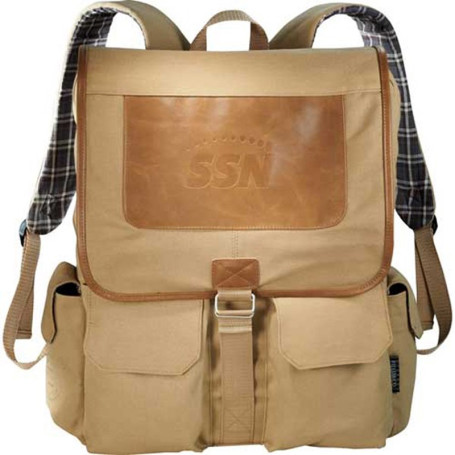 Field & Co. Cambridge Collection Compu-Backpack