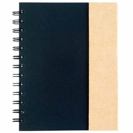 Promo Spiral Notebook With Sticky Notes & Flags
