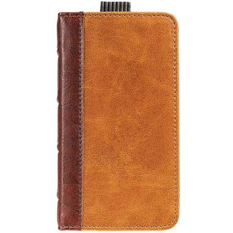 Imprinted Field & Co. Book Case for iPhone 5/5S