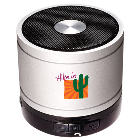 Imprinted Bluetooth® Cylinder Mini Speaker