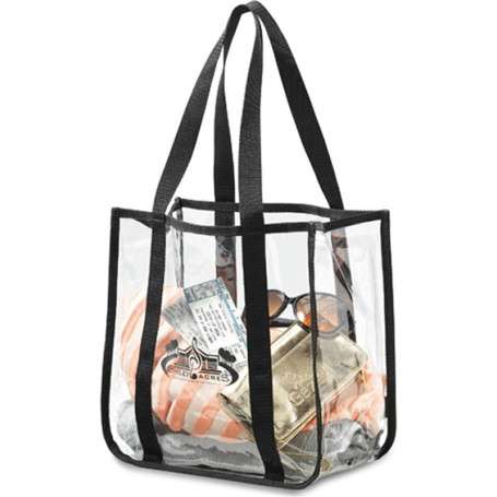 Imprinted Clear Event Tote