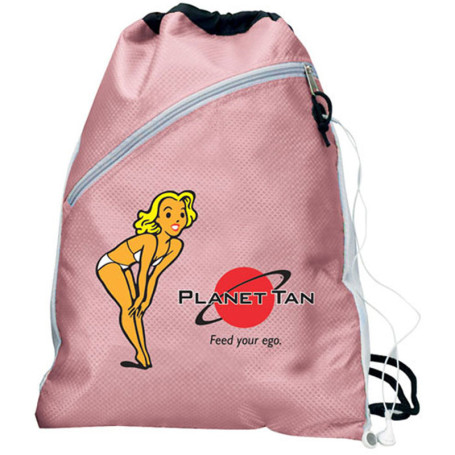 Imprinted Draw String Backpack