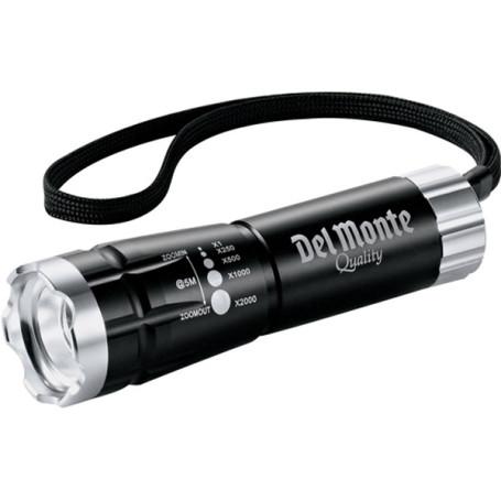 Imprinted Garrity Zoomed LED Flashlight
