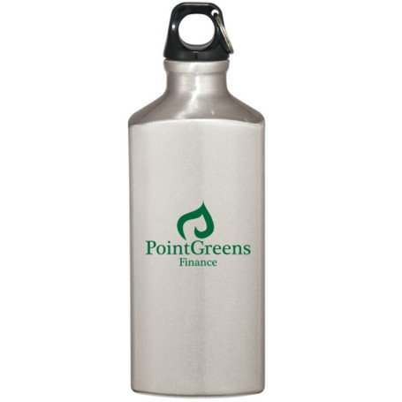Imprinted 20 Oz. Triangle Aluminum Bottle