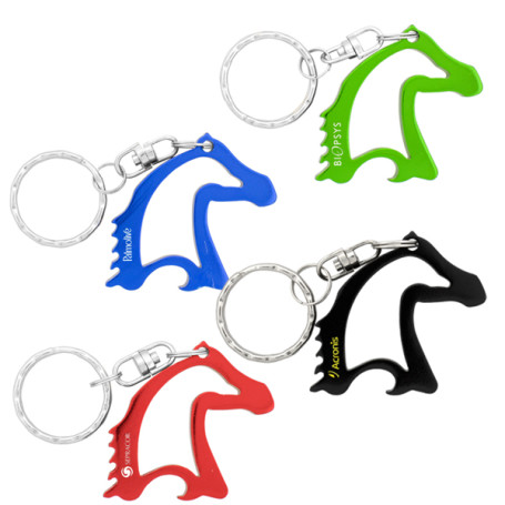 Logo Horse Head Bottle Opener