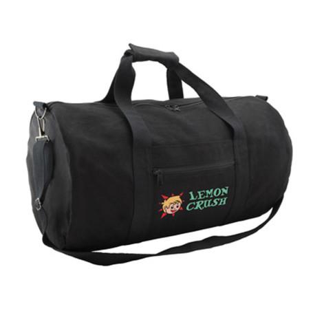 Monogrammed Canvas Duffle Bag