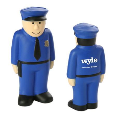 Monogrammed Policeman Stress Reliever