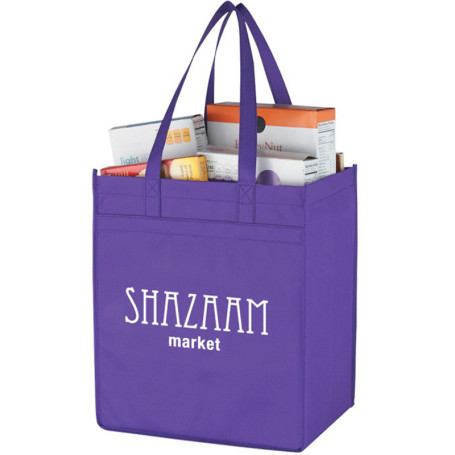 Custom Non-Woven Market Shopper Tote