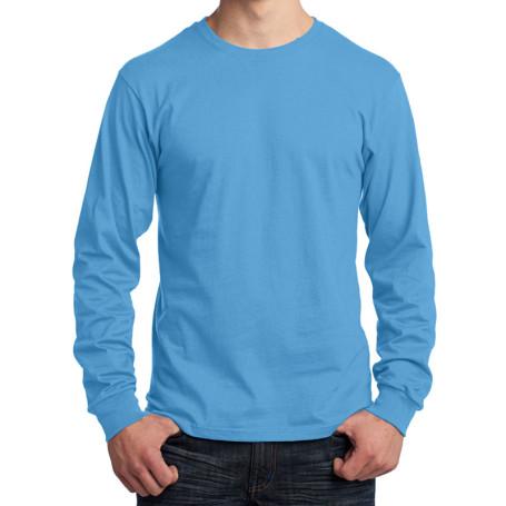 Port & Company - Long Sleeve 5.4-oz. 100% Cotton T-Shirt (Apparel)