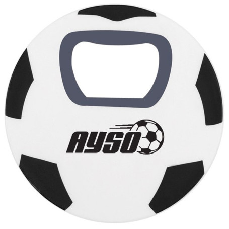 Personalized Soccer Ball Bottle Opener