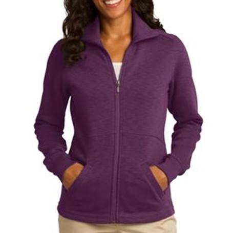 Port Authority Ladies Slub Fleece Full-Zip Jacket
