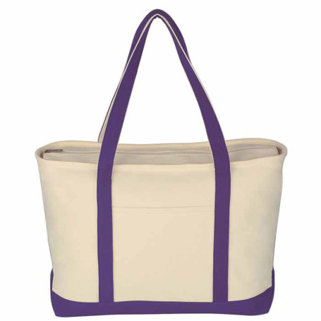 Printable Large Heavy Cotton Canvas Boat Tote