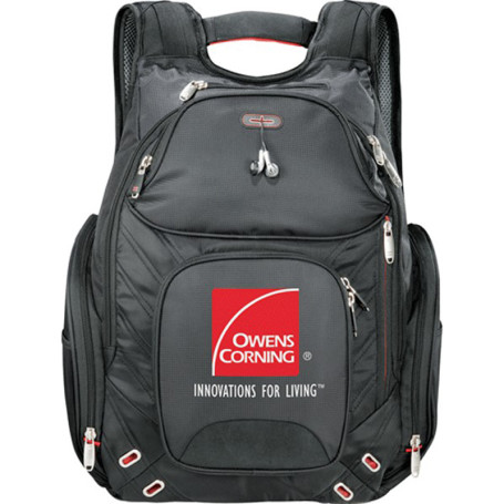 Printed Elleven Amped Checkpoint Compu-Backpack