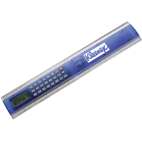 Promotional 12 Inch Ruler Calculator