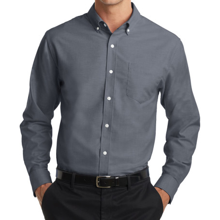 Port Authority SuperPro Oxford Shirt (Apparel)