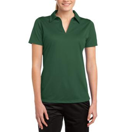 Sport-Tek Ladies Active Textured Polo